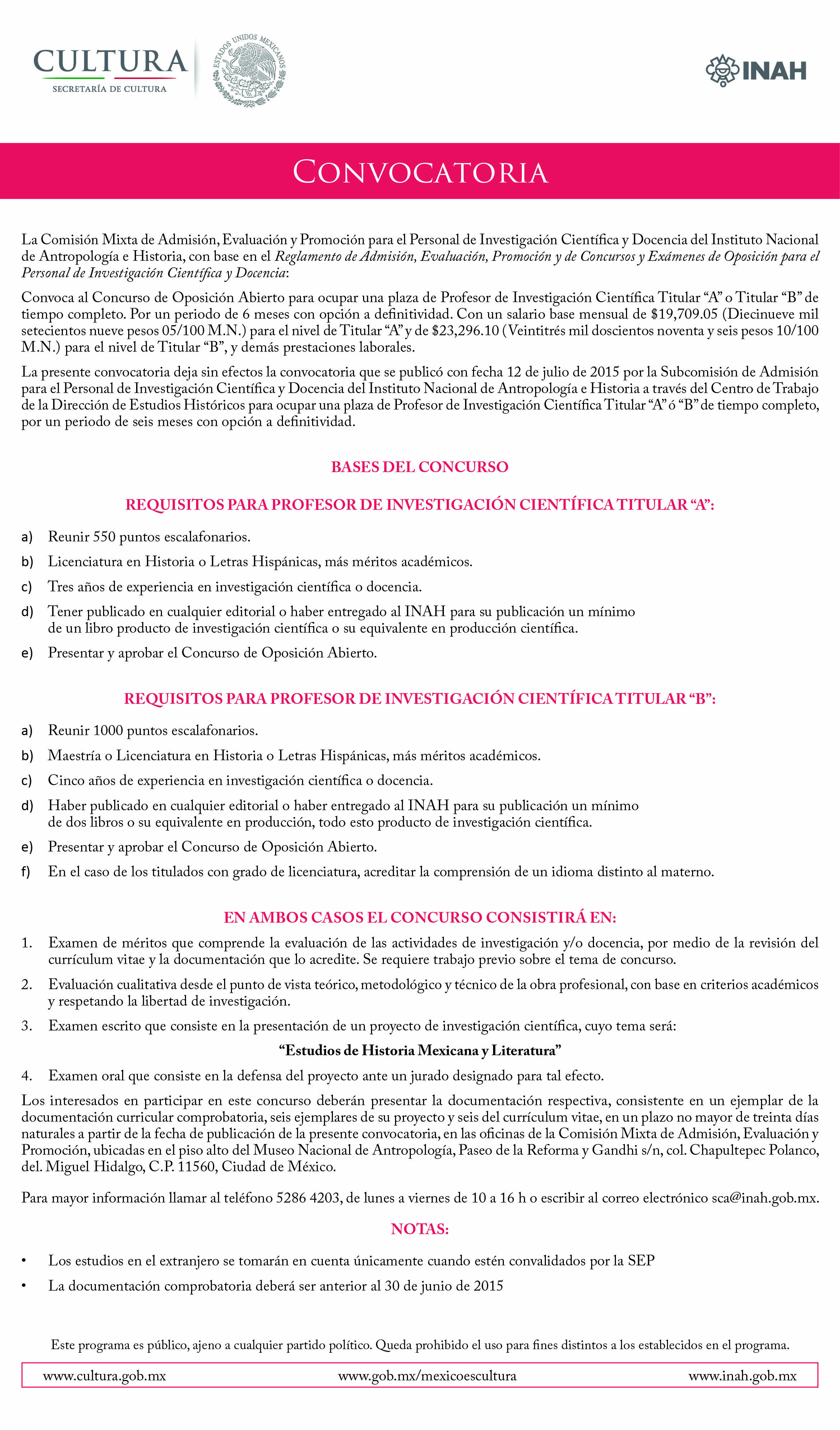 convocatoria examen de oposicion 2016 2017 download pdf