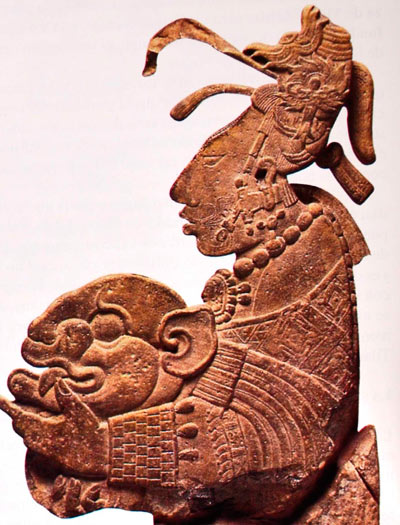 Mayan Ancient image of Woman